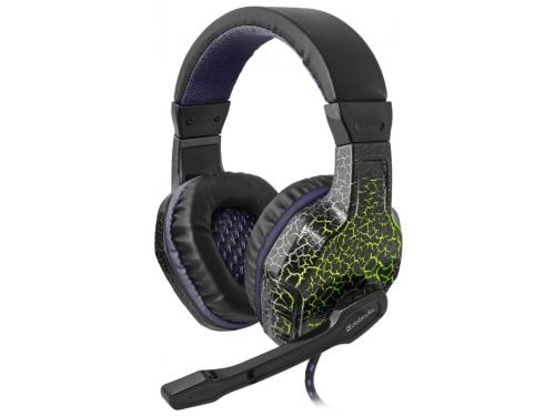 Гарнитура для ПК Defender Warhead G-400 black/violet, вид 1