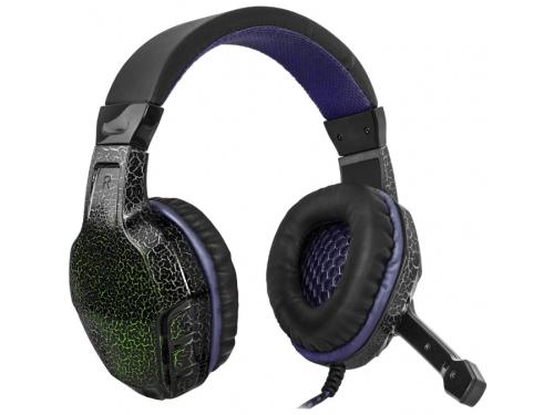 Гарнитура для ПК Defender Warhead G-400 black/violet, вид 2
