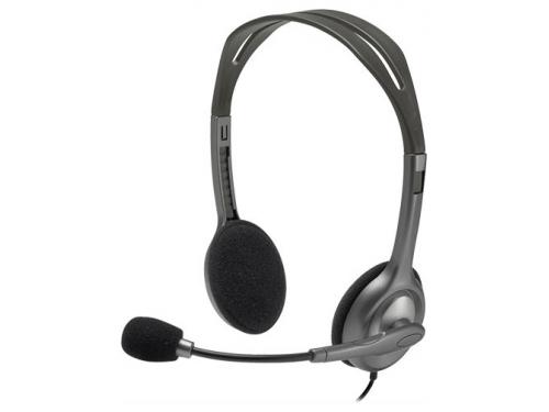 Гарнитура для ПК Logitech Stereo Headset H111, вид 2