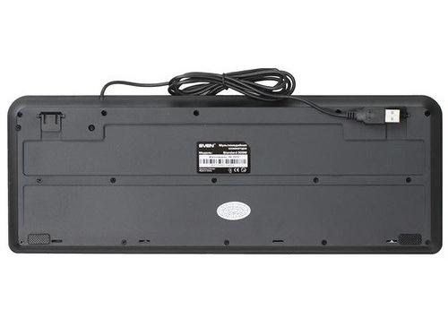 Клавиатура Sven Standard 309M USB, черная, вид 2
