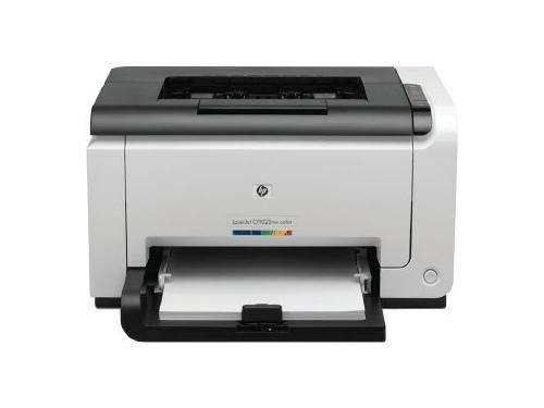 Лазерный цветной принтер HP Color LaserJet Pro CP1025nw, вид 1
