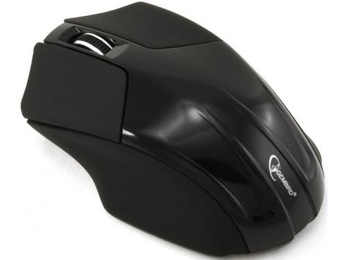 Мышка Gembird MUSW-206, черная, вид 2