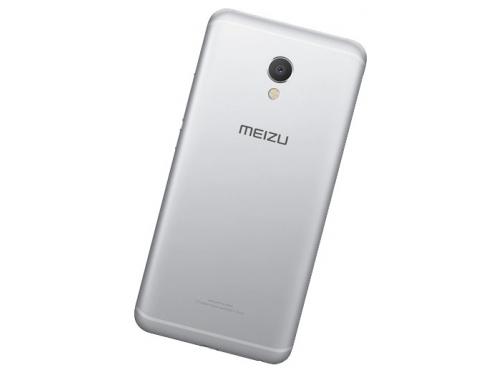 Смартфон Meizu MX6 4/32GB, серебристый, вид 2