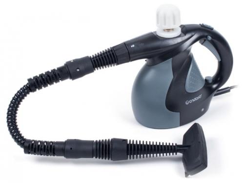 Пароочиститель-отпариватель Endever Odyssey Q-423, темно-серый/черный, вид 1