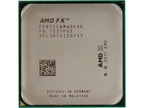 Процессор AMD FX-8320E Vishera (AM3+, L3 8192Kb, Tray), вид 1