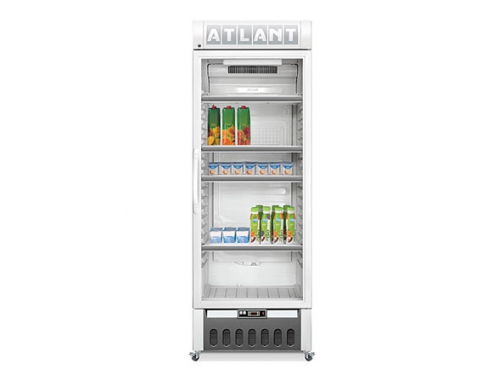 Холодильник Атлант ХТ 1006, холодильник-витрина, белый, вид 1