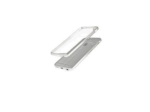 Чехол iphone Накладка skinBOX slim silicone для Apple iPhone 7, прозрачный, вид 1