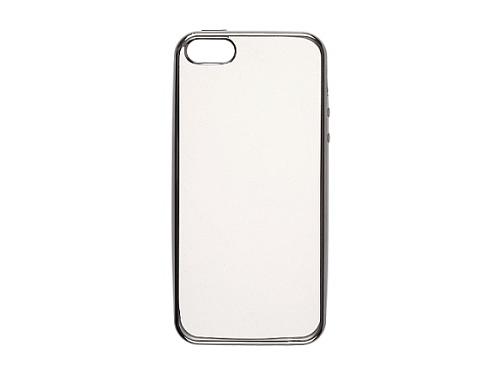 Чехол iphone Накладка skinBOX slim silicone для Apple iPhone 7, прозрачный, вид 2