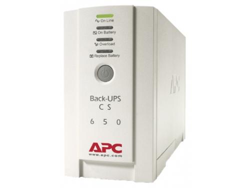 Источник бесперебойного питания UPS APC BK 650 EI, вид 1