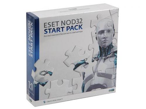 Программа-антивирус ESET NOD32 START PACK - лицензия на 1 год на 1ПК, вид 1