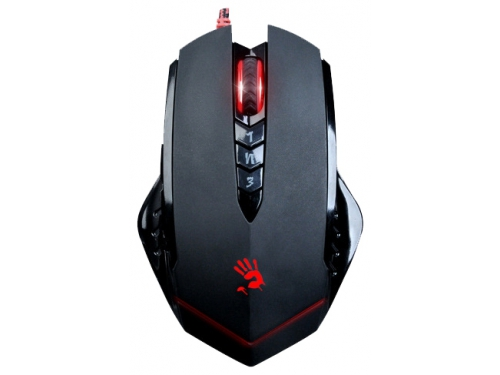 Мышка A4Tech Bloody V8M game mouse Black USB , вид 1
