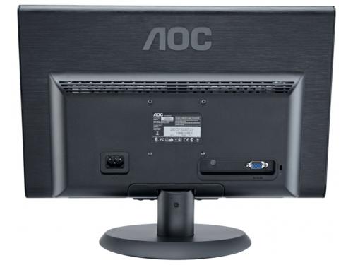 Монитор AOC e2050Sw Black, вид 4