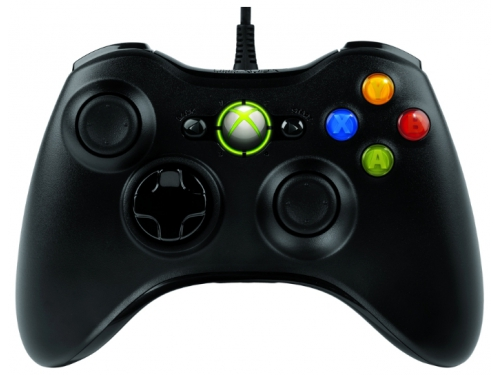 Геймпад Microsoft Xbox 360 Wireless Controller for Windows (JR9-00010), чёрный, вид 2