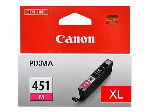 Картридж Canon CLI-451XLM 6474B001 Magenta, вид 1
