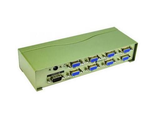 VGA-разветвитель VCom Vpro VDS8017 (на 8 мониторов), вид 1