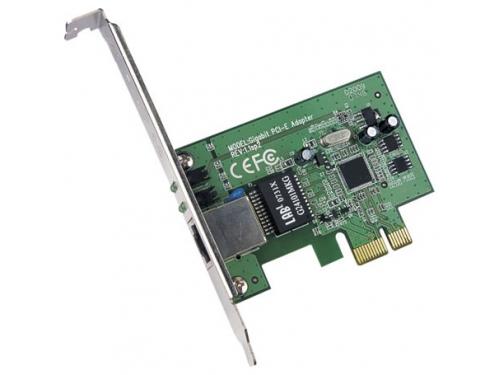 Сетевая карта внутренняя TP-LINK TG-3468 10/100/1000 PCI-E, вид 1