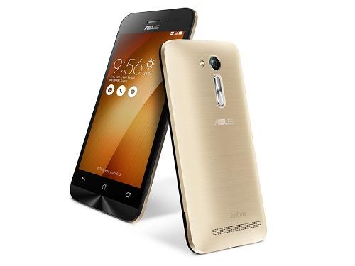 Смартфон Asus ZB450KL-6G021RU, золото, вид 1