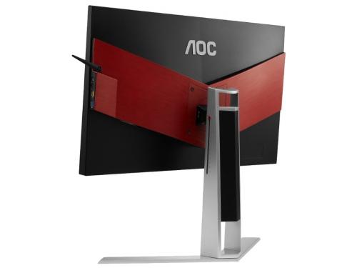 Монитор AOC AG271QX, черно-красный, вид 4