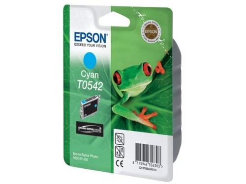 Картридж Epson T0542 голубой, вид 1