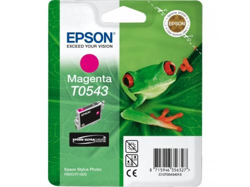 Картридж Epson T0543 пурпурный, вид 1