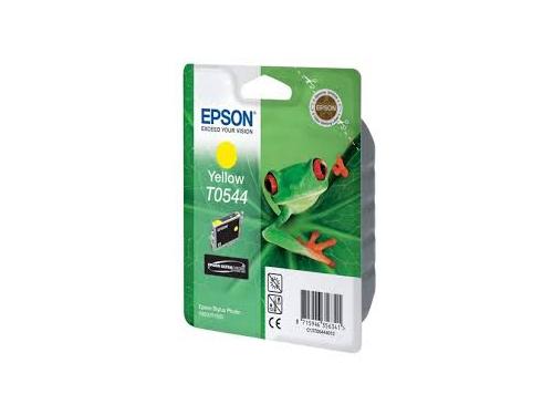 Картридж Epson T0544 жёлтый, вид 1