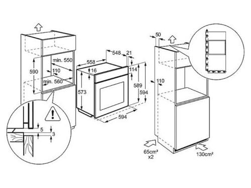 Духовой шкаф Electrolux EOG91102AX, вид 2