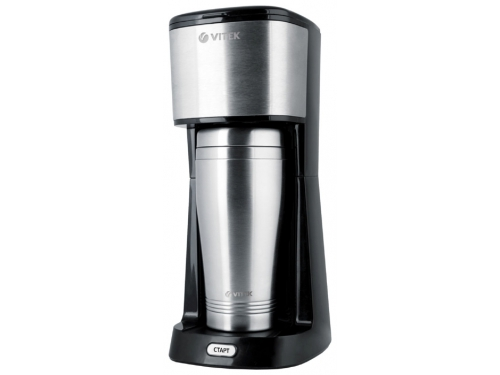 Кофеварка Vitek VT-1510 BK, черная, вид 1