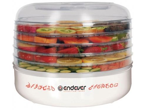 Сушилка для овощей и фруктов Endever Skyline FD-56, белая, вид 1