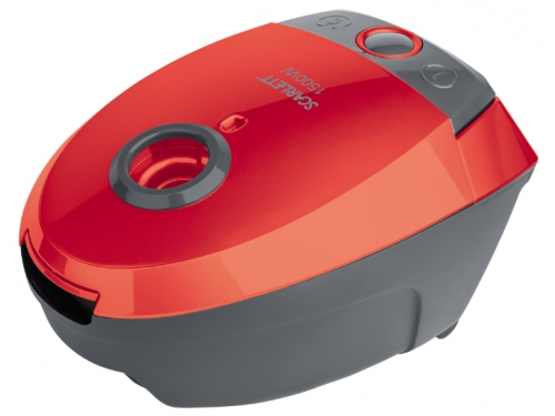 Пылесос Scarlett SC-VC80B07, красный, вид 1