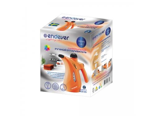 Пароочиститель-отпариватель Endever Odyssey Q-412, оранжевый, вид 3
