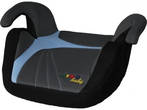 Автокресло детское Liko Baby LB 311 бустер, голубой/серый/черный, вид 1