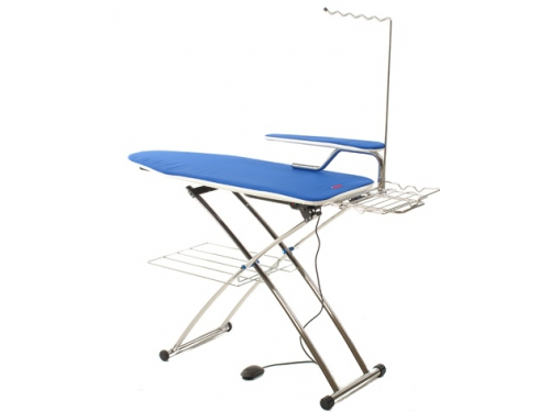 Гладильная доска Mie Premio c функциональными возможностями, голубая, вид 1