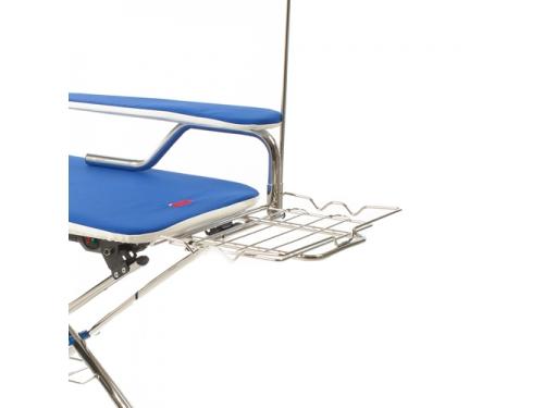 Гладильная доска Mie Premio c функциональными возможностями, голубая, вид 3