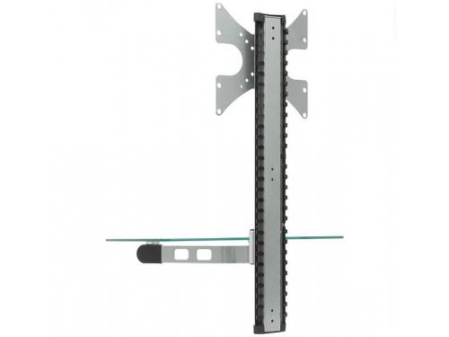 Кронштейн Brateck DVD-14C (23-42'', до 30 кг), серебристый, вид 2