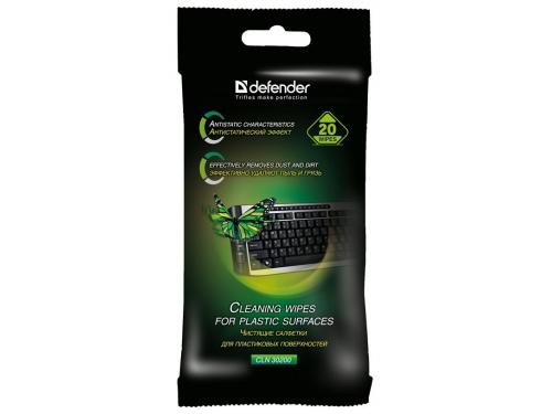 Чистящая принадлежность для ноутбука Defender 30200 салфетки универсальные, вид 1