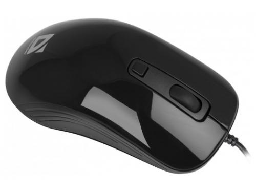 Мышка Defender Datum MB-060 USB, черная, вид 1