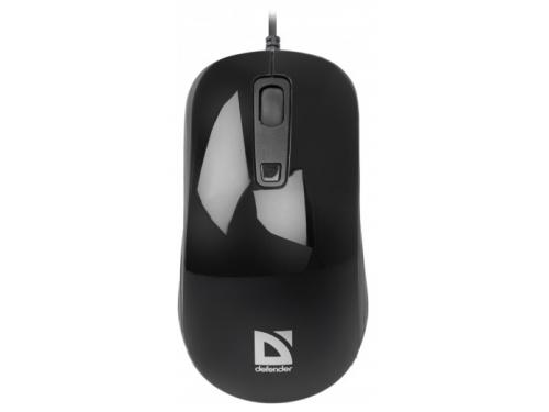 Мышка Defender Datum MB-060 USB, черная, вид 2