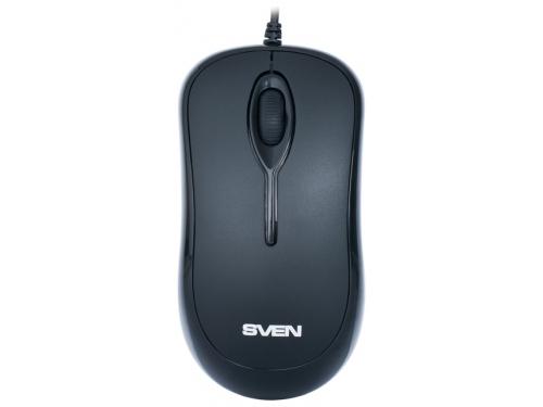 Мышка Sven RX-165 USB, черная, вид 3