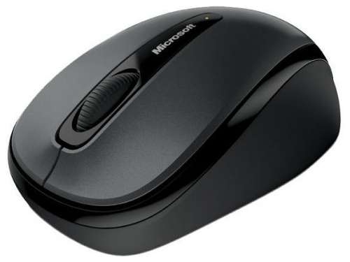 Мышка Microsoft Wireless Mobile Mouse 3500 Wireless optical USB, черная, вид 1