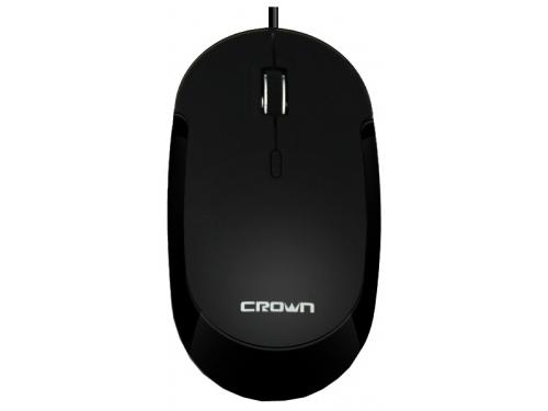 Мышка Crown CMM-21 USB, черная, вид 1
