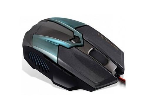 Мышка Crown CMXG-606 USB, циан, вид 1