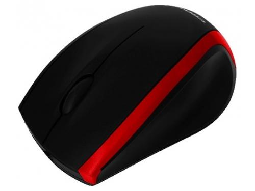 Мышка Crown CMM-009, черно-оранжевая, вид 2