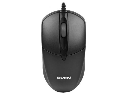 Мышка Sven RX-112 PS/2, черная, вид 3