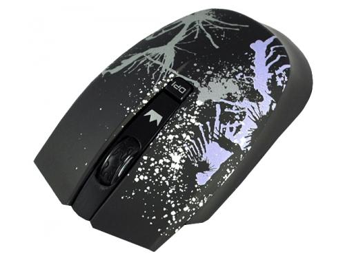 Мышка Crown CMM-930W USB, черная, вид 1