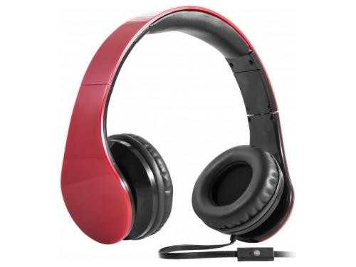 Гарнитура для телефона Defender HN-047, красная, вид 1