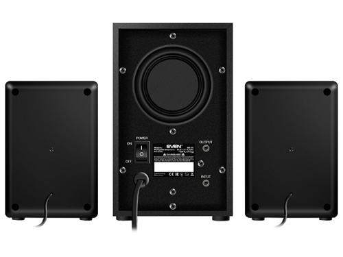Компьютерная акустика Sven MS-90, черная, вид 3