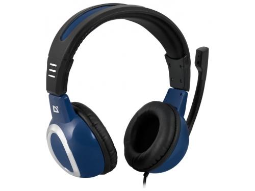 Гарнитура для пк Defender Warhead G-280, синяя, вид 1
