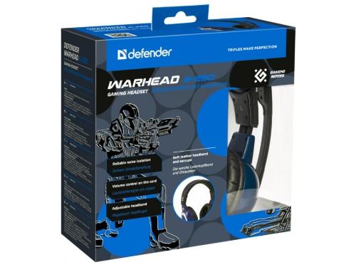 Гарнитура для пк Defender Warhead G-280, синяя, вид 4