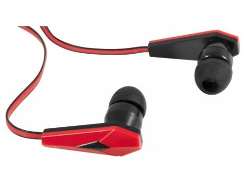 Наушники Defender Trendy-704, черно-красные, вид 2