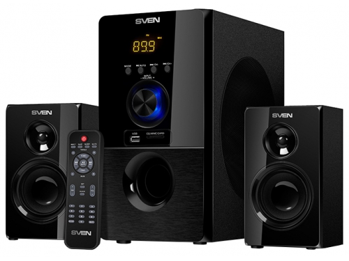 Компьютерная акустика Sven MS-2050, Black, вид 1